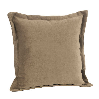 Taupe Glitz Flange Pillow