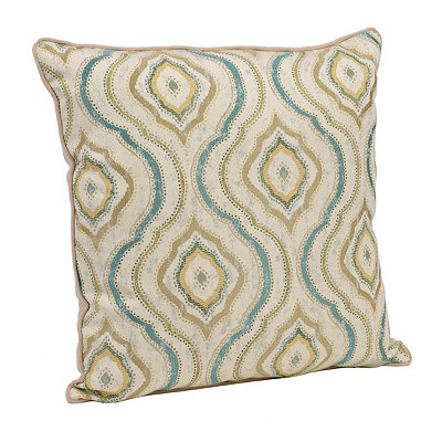 Turquoise Grand Jubilee Pillow