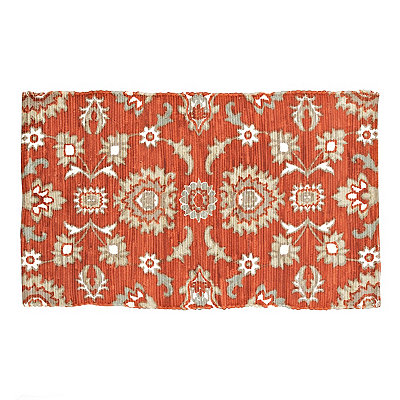 Chatham Red Floral Scatter Rug