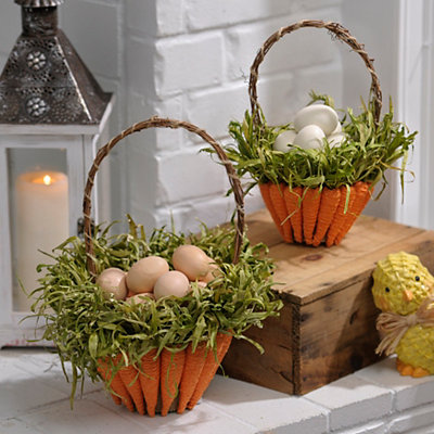 Carrot Baskets, Set of 2