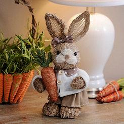 Grass Bunny Girl Statue