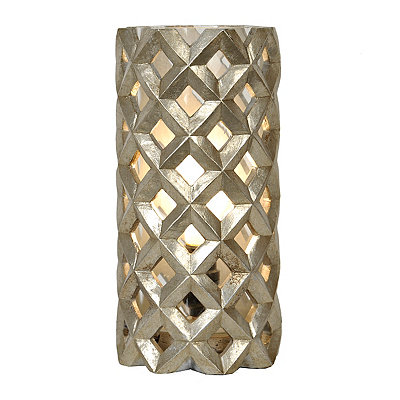 Silver Leaf Lattice Uplight