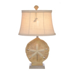 Sand Dollar Shimmer Table Lamp