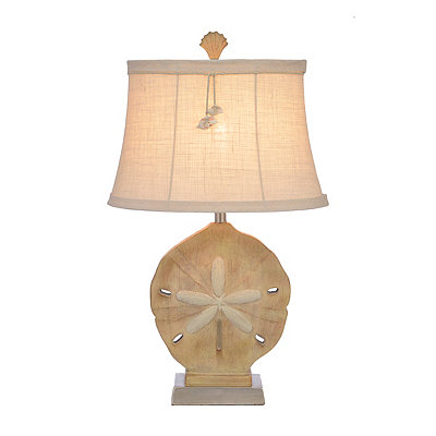 Sand Dollar Shimmer Table Lamp