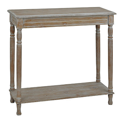 Weathered Ash Console Table
