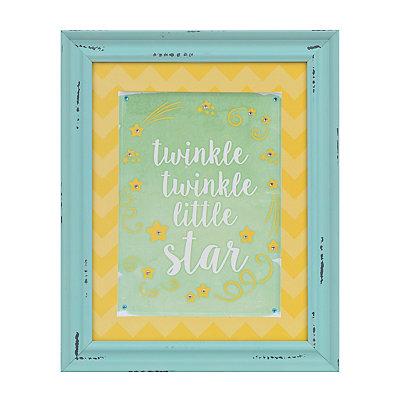 Twinkle Twinkle Jeweled Framed Art Print