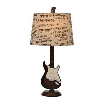 Guitar Table Lamp