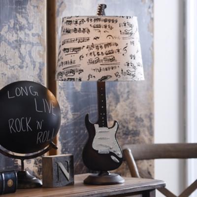 Guitar Table Lamp