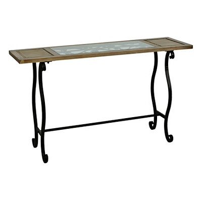 Sophia Window Pane Console Table