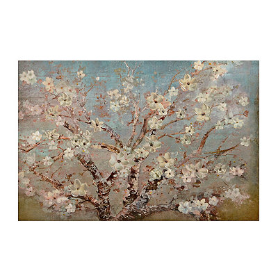 Blooming Branches Canvas Art Print