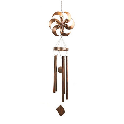 Bronze Spinner Wind Chime