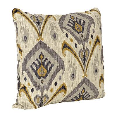 Gray Mambo Pillow