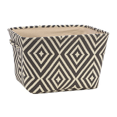 Black Diamond Fabric Storage Bin