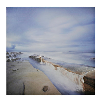 Coastal Falls Canvas Art Print