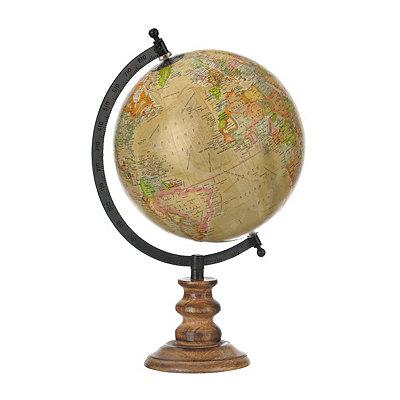 Natural Greenwich Globe