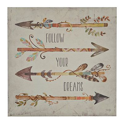 Arrows I Canvas Art Print