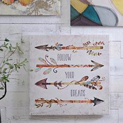 Arrows I Canvas Art Print