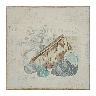 Coastal Post II Canvas Art Print