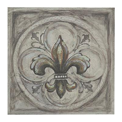Fleur-de-lis I Canvas Art Print