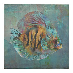 Tropical Fish II Canvas Art Print