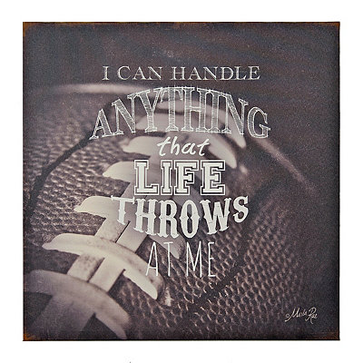 Sports Quotes II Canvas Art Print