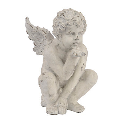 Kissing Cherub Statue