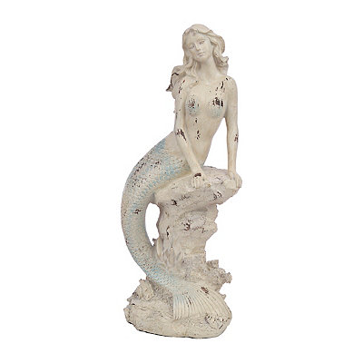 Sitting Mermaid Statue