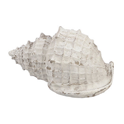 Concrete Conch Shell Statue