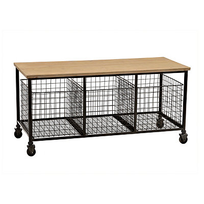 Gleason 3-Drawer Storage Bench