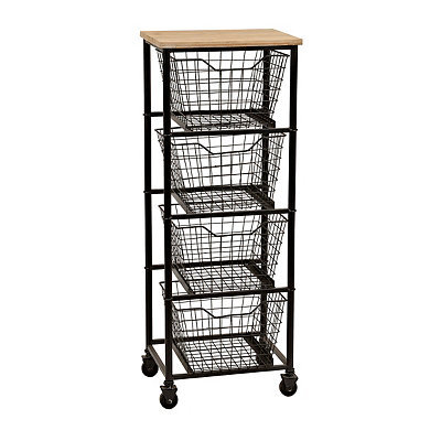 Gleason 4-Drawer Storage Cart
