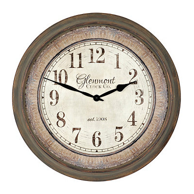 Rustic Bailey Anne Clock