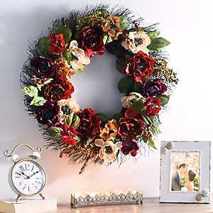 Peony Passion Wreath