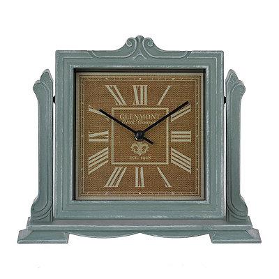 Charlotte Powder Blue Tabletop Clock