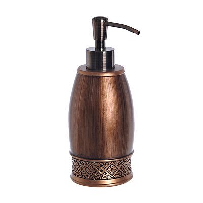 Embossed Copper Soap Pump