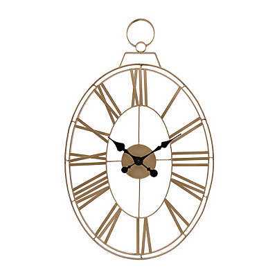 Aspen Gold Open Face Clock