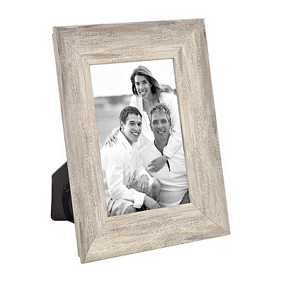 Distressed Natural Picture Frame, 4x6