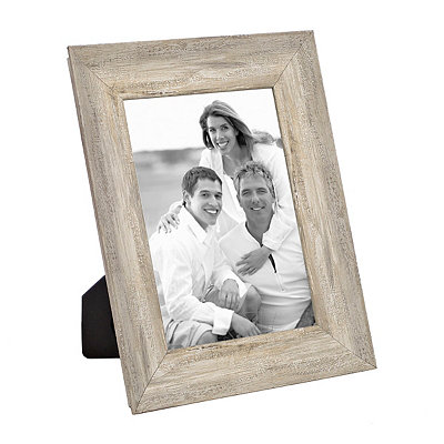 Distressed Natural Picture Frame, 5x7