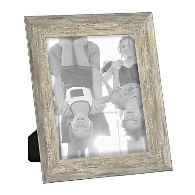 Distressed Natural Picture Frame, 8x10