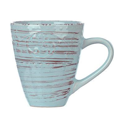 Turquoise Venetian Scroll Mug
