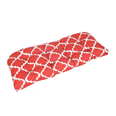 Kobe Red Outdoor Settee Cushion