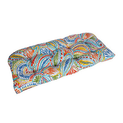 Ummi Multicolor Outdoor Settee Cushion