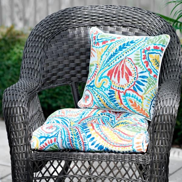 ummi multicolor outdoor cushion - Lawn Chair Cushions