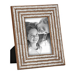 Tribal Wood Picture Frame, 5x7