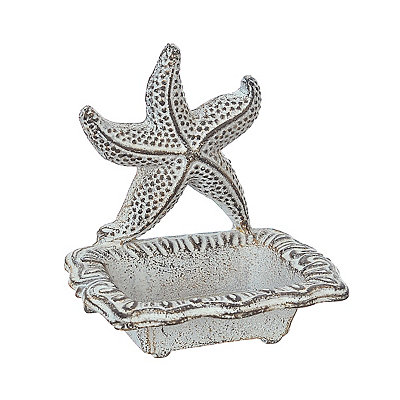 Starfish Coastal Soap Dish