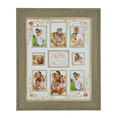 Home Is Wherever I'm With You Collage Frame