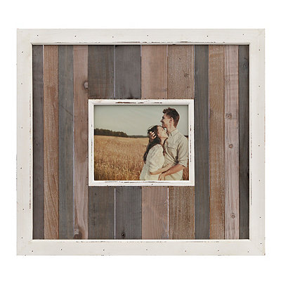 Amelia Wood Plank Picture Frame, 8x10