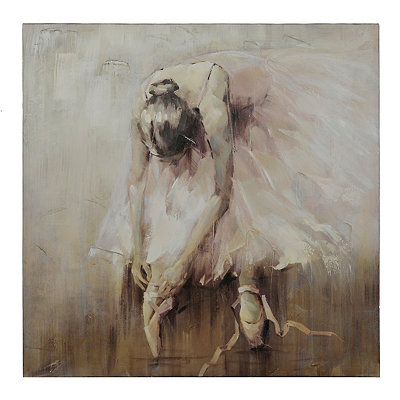 Ballerina Canvas Art