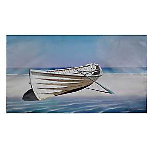 Abandoned Boat Canvas Art Print