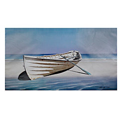 Abandoned Boat Canvas Art Print