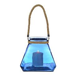Cobalt Pyramid Lantern